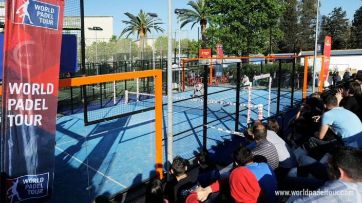 proteccion pista padel World Padel Tour