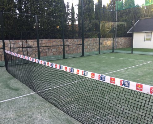 Cubre red world padel tour